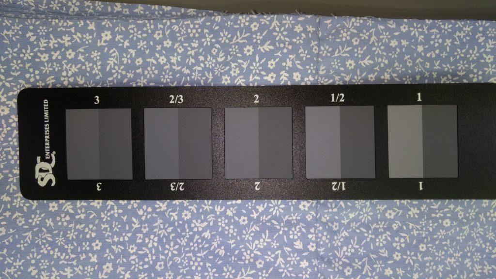 Grayscale CSV grades